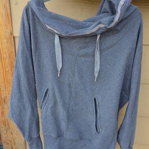 Grey Lululemon Cowl Neck Sweatshirt